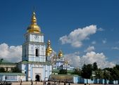 St. Michael`s Golden-Domed Monastery — Stock Photo