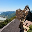 Roofs and towers of medieval castle — Stock Photo #1184354