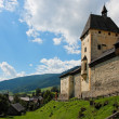 Mauterndorf medieval castle in Austria - Stock Photo