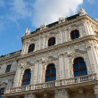 Facade of Belvedere palace in Vienna — Stock Photo