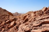 Rocky desert landscape — Stock Photo
