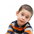 Serious cute little five years boy — Stock Photo #1226463