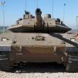 New Israeli Merkavtank in museum — Stock Photo #2041124