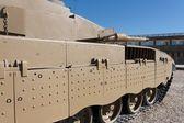 New Israeli Merkava tank in museum — Stock Photo