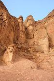 Solomon pillars rock — Stock Photo
