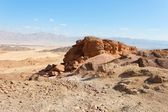 Rocky desert landscape — Stock Photo