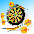 Royalty-Free Stock Vektorgrafik: Darts
