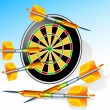 Darts — Stockvector #1248282