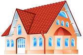 Residencia privada — Vector de stock