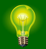 Electric bulb — Stock Vector