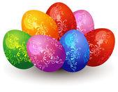 Huevos de pascua — Vector de stock
