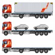 Stock Vector: Trailer