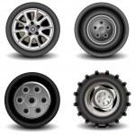 Wheels — Stock Vector #1349167