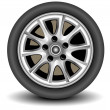 Wheel - Vettoriali Stock