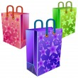 Three packages — Stock Vector