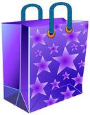 Balíček s hvězdou — Stock vektor