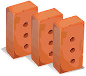 Building blocks — Stock Vector