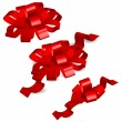 Royalty-Free Stock Vector Image: Red bows