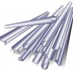 Metal pipe — Stock Vector
