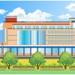 Vector de stock : Office building