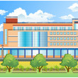 Office building — Stockvector #1445858