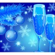 Royalty-Free Stock Векторное изображение: New year toast