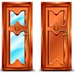 Door closed - Stock Vector