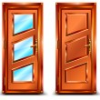 Vector de stock : Door
