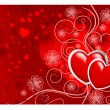 Valentines Day background — Imagen vectorial