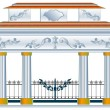 Column arch — Stockvectorbeeld