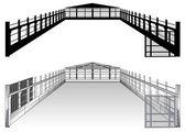 Warehouse plan — Stock Vector
