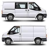 Minibús — Vector de stock