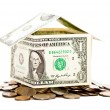 House made from dollars — Stock Photo #1287985