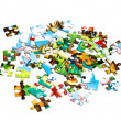 Pieces of puzzle — Stock Photo #1288953