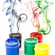 Colorful paints — Stock Photo #1289248