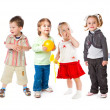 Group of little children — Stock Photo #2236255