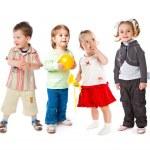 群小儿童 — 图库照片