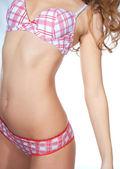 Parte do corpo de mulher de esporte — Fotografia Stock