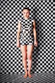 Mujer con cuerpo-arte — Foto de Stock