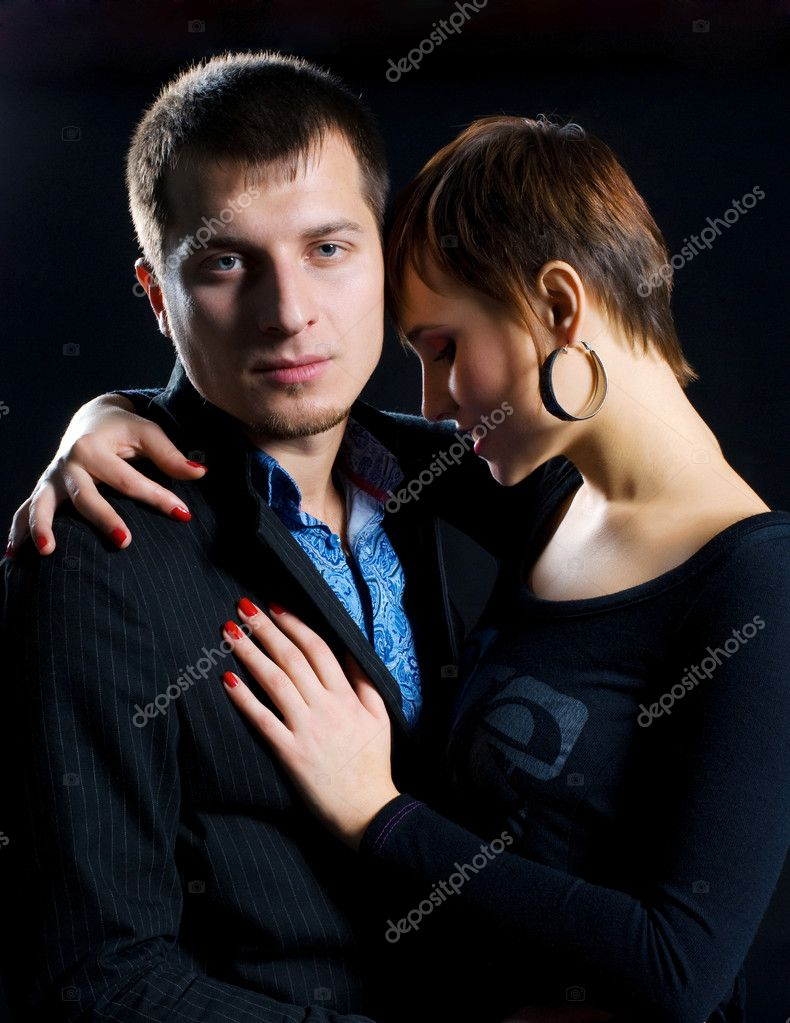 Passion couple in love — Stock Photo #2237834