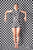 Mulher com corpo-arte — Fotografia Stock