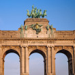 Royalty-Free Stock Photo: Triumphal arch in Brussels