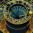 Famous astronimical clock — Stock Photo