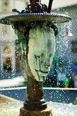 Crying fountain in Karlovy Vary — Stock Photo