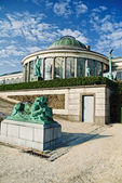 Botanical garden in Brussels — Stock Photo