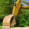 Yellow backhoe — Stock Photo #1170763