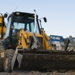 Yellow excavator — Stock Photo #1171001