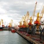 Cargo crane — Stock Photo #1171130