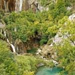 National park Plitvice lakes — Stock Photo