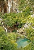 National park Plitvice lakes — 图库照片